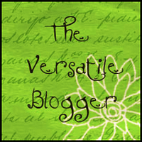 The Versatile Blog Award!