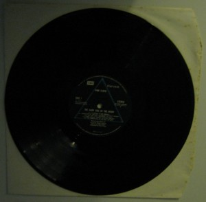 "Pink Floyd: ""The Dark Side of the Moon"" Vinile lato 1"