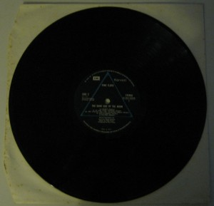 "Pink Floyd: ""The Dark Side of the Moon"" Vinile lato 2"