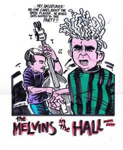 Trevor Dunn ed il ruolo del bassista nei Melvins secondo Brian Walsby