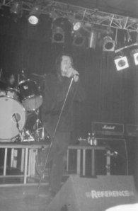 John Garcia al tempo del primo tour degli Unida (credit to me!)