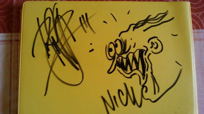 Signed Album (Dregen & Nicke)