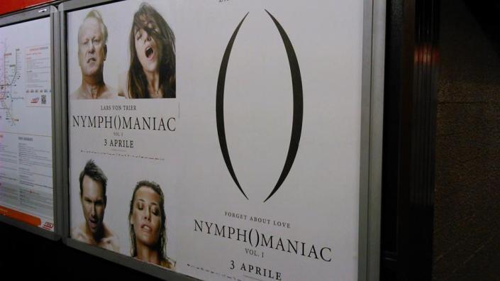 Nymphomaniac nella metropolitana di Milano