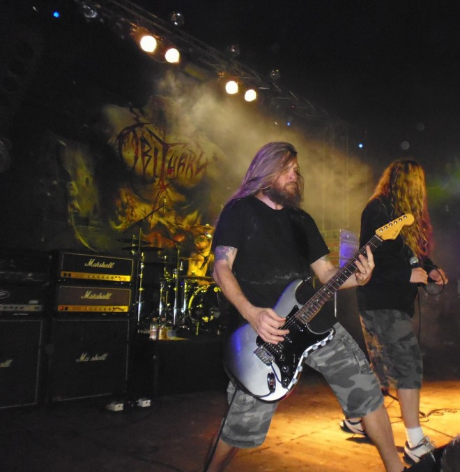 Obituary @ Rock'n'roll arena Romagnano Sesia (NO)
