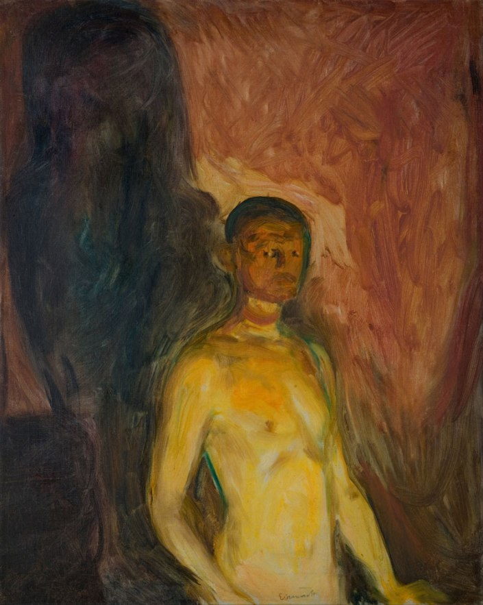 "Edvard Munch ""Autoritratto all'inferno"""
